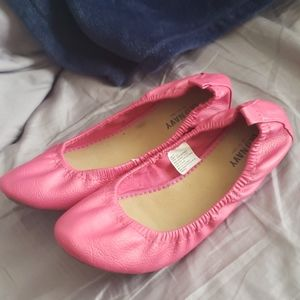 Old Navy flats pink